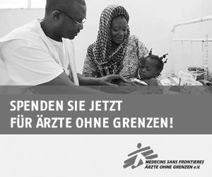 Spenden Sie jetzt für Ärzte ohne Grenzen